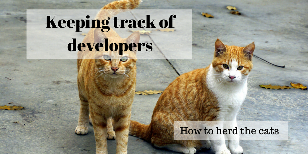 Keeping track of developers